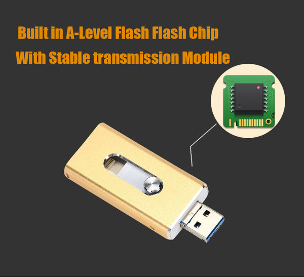 iOS Flash USB Drive for iPhone and iPad -