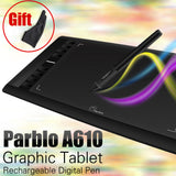 Parblo A610 Digital Graphics Drawing Tablet w/Pen -