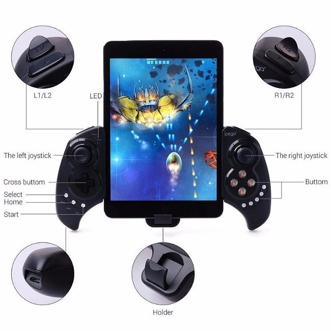 Wireless Bluetooth Joystick for Android/iOS/PC (20 hrs) -
