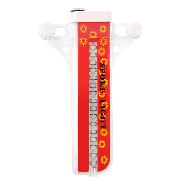 Colorful Waterproof Bicycle Spoke Lights with 32 LEDs & Patterns -