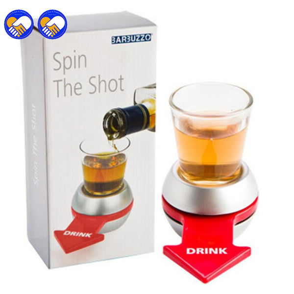 Spin The Shot Glass Drinking Game -