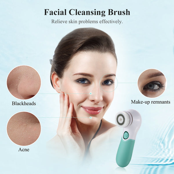 TOUCHBeauty 2-in-1 Rotating Facial Deep Cleansing System -