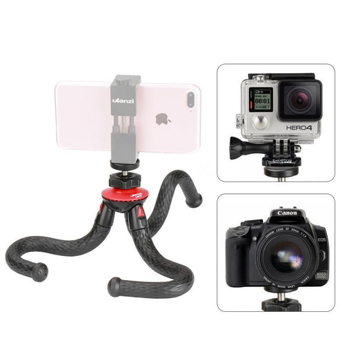 Xtreme Bendable Tripod with Optional Rotating Smartphone Mount -