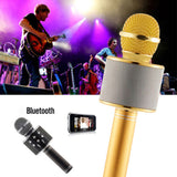 Bluetooth Karaoke Microphone KTV Player -