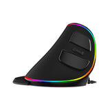 Delux M618 Plus Ergonomic Gaming Mouse (Wired or Wireless) -