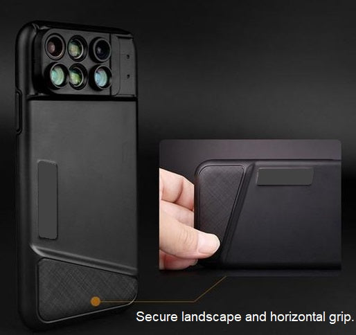 SHIFTCAM™ 6-in-1 iPhone Lens Case -