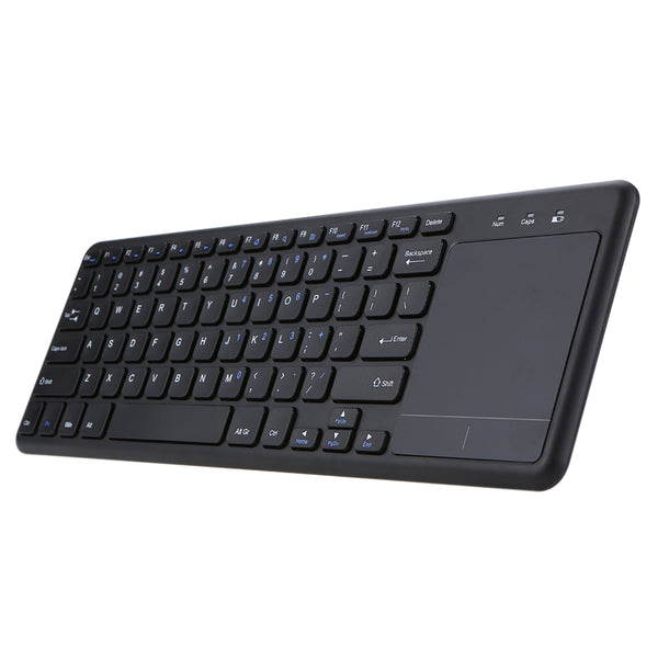 2.4G Ultra-slim Wireless Touchpad Keyboard (iOS, Android, Windows, SmartTV) -
