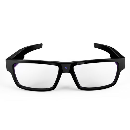 Smart and Stylish 1080P HD Video-cam Glasses with Built-in 16GB Memory -