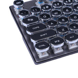 Retro Style 104-Key Mechanical Keyboard (18 Backlight Effects) -