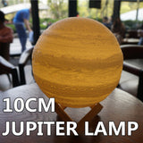 Jupiter Night Light/Table Lamp - Exact 3D Replica -
