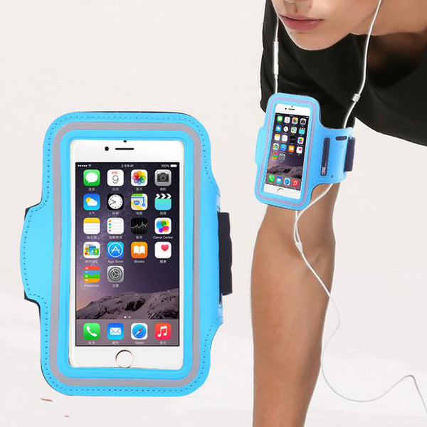 Exceptionally Well-designed Portable Smartphone Arm Band -