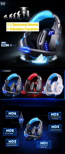 G2200 Gaming Headset -