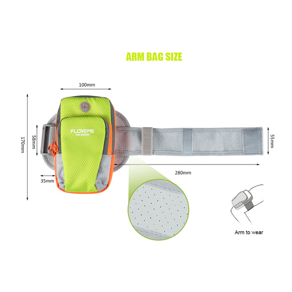 Luminous Universal Running Armband/Sports Bag -