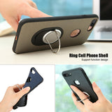 Magnetic Silicone iPhone Finger Ring Shells -