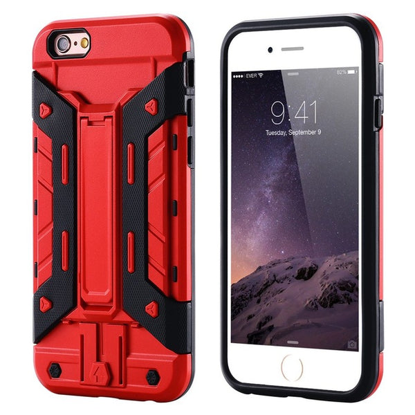 Impenetrably Armored Kickstand iPhone Case -