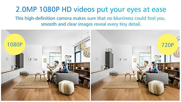 1080P WiFi Surveillance Camera/Baby Monitor -