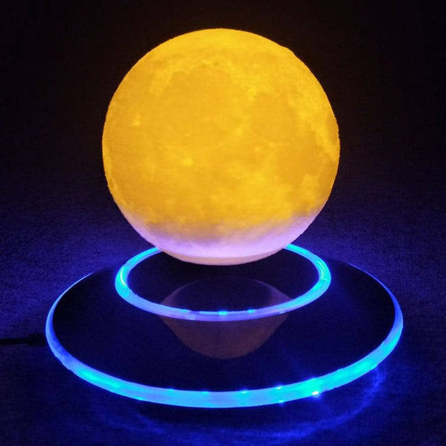 12cm Magnetic Levitating 3D Moon Lamp -