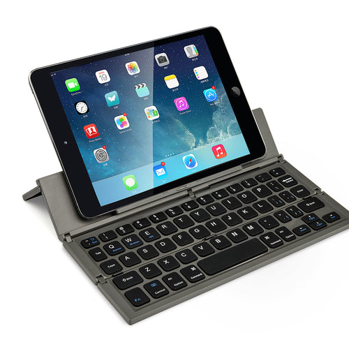 Portable Wireless Folding Keyboard for iOS/Android/Windows Tablet -