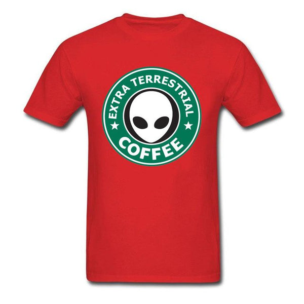 👽 Extra Terrestrial Coffee t-shirt 👽 -