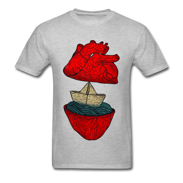 ⛵❤️Sailing is in My Heart t-shirt❤️⛵ -