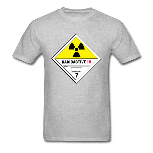 Radioactive Yellow-III Label t-shirt -