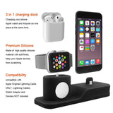 3-in-1 Charging Dock for iPhone, AirPods, and Apple Watch -