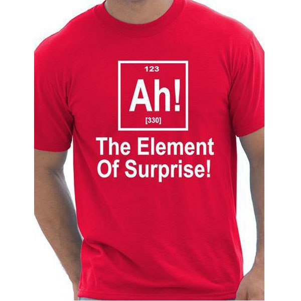 Element Of Surprise t-shirt - T-Shirts