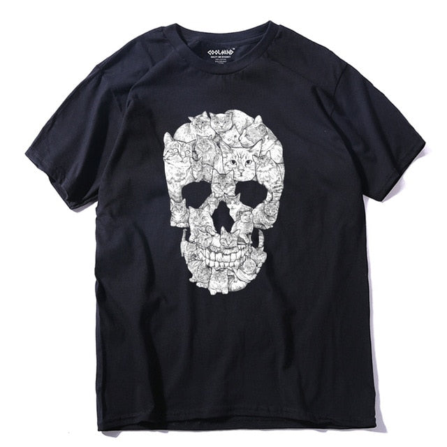 WTF? Skull of Cats t-shirt - T-Shirts