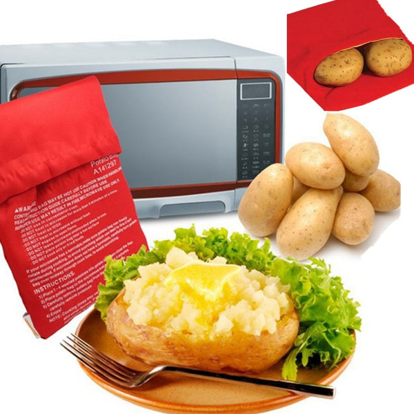 Microwave Potato Bag -