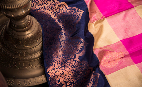 Copper Glow Collection - Kanchipuram silks