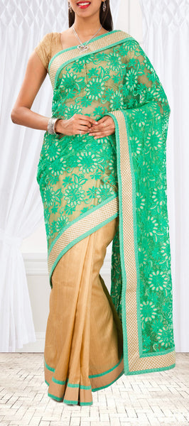 Semi Tussar Saree