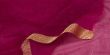 Magenta Semi-Silk Cotton Saree