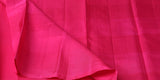 Yellow Green & Pink Pure Kanchipuram Handloom Silk Sari With Pure Zari