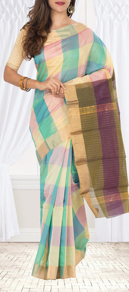 Semi Silk Cotton Saree