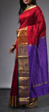 Kum Kum Red Art Silk Saree