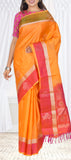 Orange & Pink Soft Silk Saree