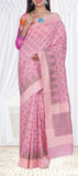 Light Pink Cotton Saree — Diwali Collection
