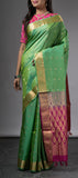 Mint Green Lightweight Kanchipuram Silk Saree