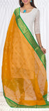 Orange Kora Silk Dupatta