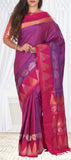 Purple & Magenta Soft Silk Saree