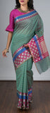 Sea Green Semi Silk Cotton Saree