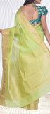 Green Semi Soft Silk Casual Saree