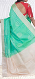 Neon Green Soft Silk Saree