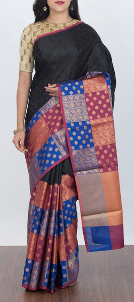 Semi Tanchui Silk Saree