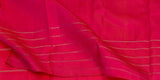 Brown & Pink Pure Handloom Kanchipuram Silk Saree