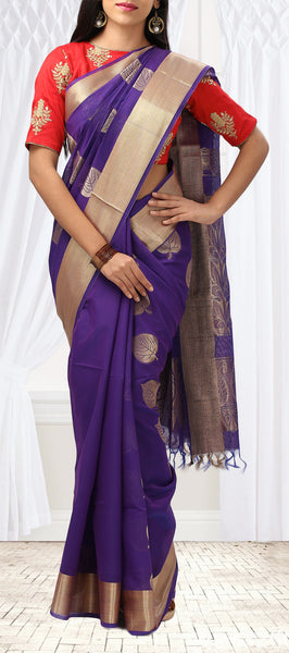 Blue Fancy Saree