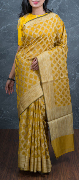 Dijon Semi Jute Saree