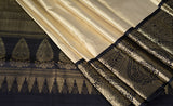 Beige Bridal Tishu Silk Saree