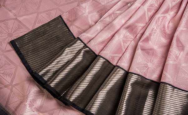 Pink Folklore Silk Saree