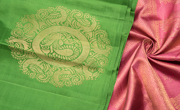 Magna Collection - Aurora Collection - Exclusive Kanchipuram Silk Saree